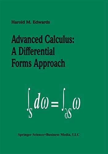 9781461266884: Advanced Calculus: A Differential Forms Approach