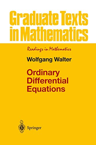9781461268345: Ordinary Differential Equations (Graduate Texts in Mathematics) (Volume 182)