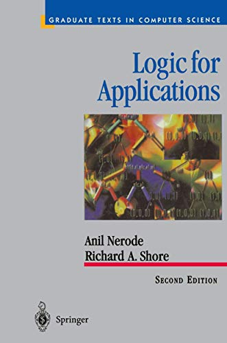 9781461268550: Logic for Applications (Texts in Computer Science)