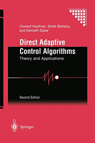 9781461268598: Direct Adaptive Control Algorithms: Theory and Applications (Communications and Control Engineering)