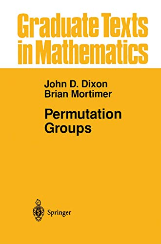 9781461268857: Permutation Groups