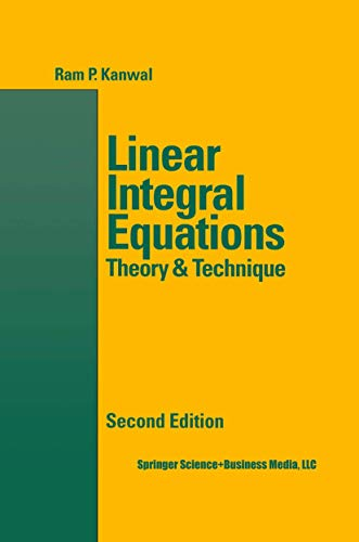 9781461268932: Linear Integral Equations
