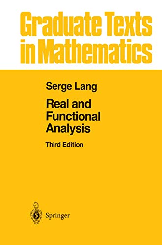 9781461269380: Real and Functional Analysis (Graduate Texts in Mathematics)