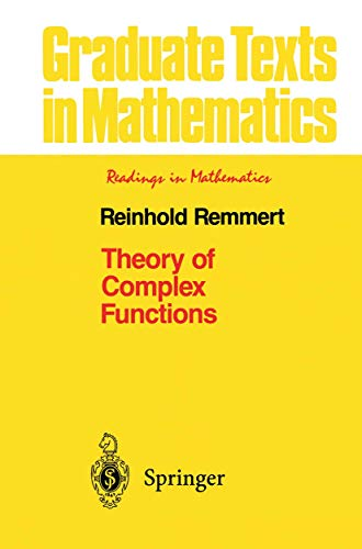 9781461269533: Theory of Complex Functions (Graduate Texts in Mathematics) (Volume 122)