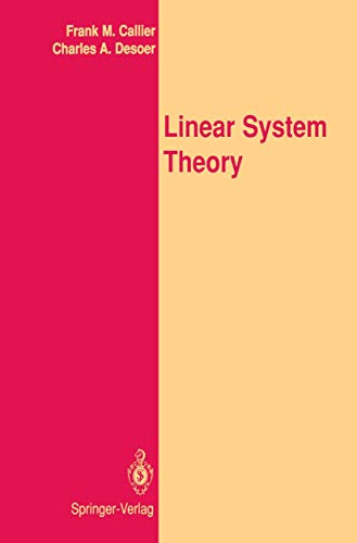 9781461269618: Linear System Theory (Springer Texts in Electrical Engineering)
