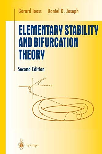 9781461269779: Elementary Stability and Bifurcation Theory (Undergraduate Texts in Mathematics)