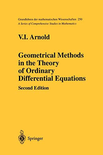 9781461269946: Geometrical Methods in the Theory of Ordinary Diffurential Equations