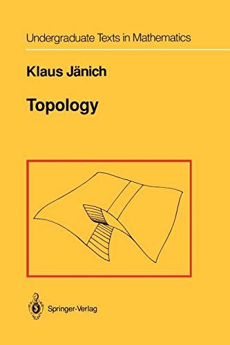 9781461270188: Topology (Undergraduate Texts in Mathematics)