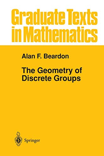 9781461270225: The Geometry of Discrete Groups (Graduate Texts in Mathematics)