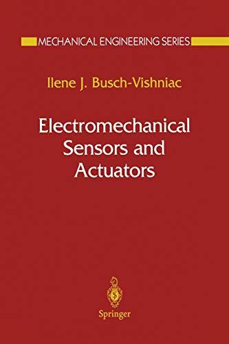 9781461271420: Electromechanical Sensors and Actuators (Mechanical Engineering Series)