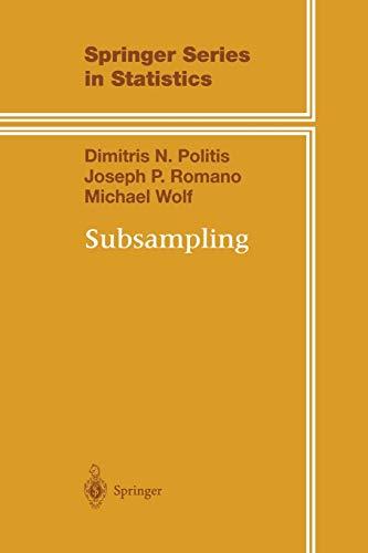 9781461271901: Subsampling (Springer Series in Statistics)