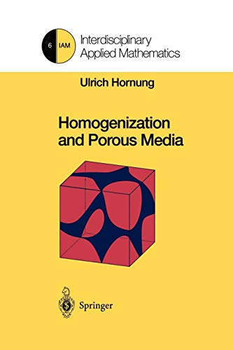 9781461273394: Homogenization and Porous Media (Interdisciplinary Applied Mathematics)