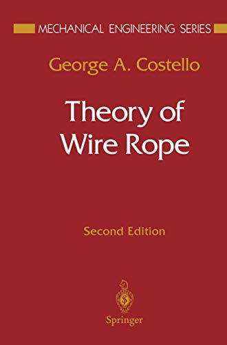 9781461273615: Theory of Wire Rope (Mechanical Engineering Series)