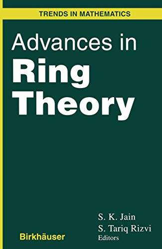 9781461273646: Advances in Ring Theory (Trends in Mathematics)