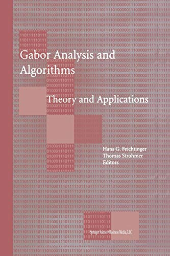 9781461273820: Gabor Analysis and Algorithms: Theory and Applications (Applied and Numerical Harmonic Analysis)