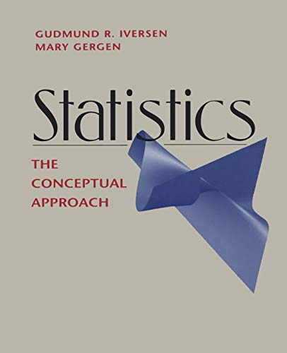 9781461274704: Statistics: The Conceptual Approach (Springer Undergraduate Textbooks in Statistics)