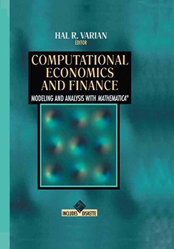9781461275107: Computational Economics and Finance: Modeling and Analysis with Mathematica®