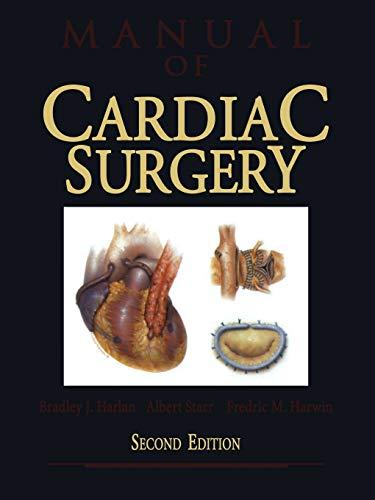 9781461275534: Manual of Cardiac Surgery