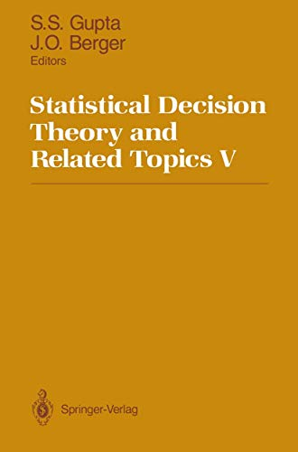 9781461276098: Statistical Decision Theory and Related Topics V