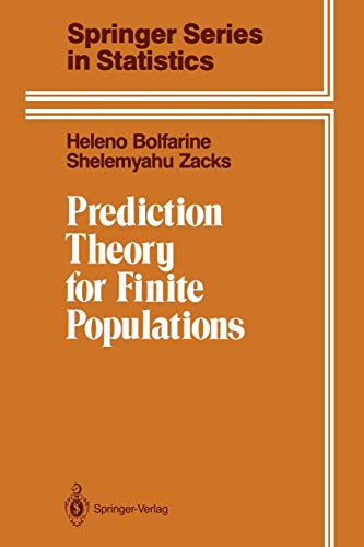 9781461277132: Prediction Theory for Finite Populations (Springer Series in Statistics)