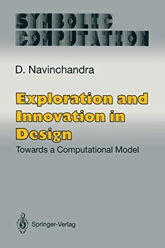9781461278023: Exploration and Innovation in Design: Towards a Computational Model (Symbolic Computation)
