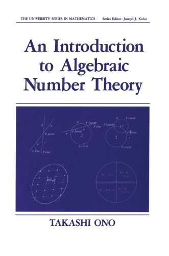 9781461278726: An Introduction to Algebraic Number Theory (University Series in Mathematics)
