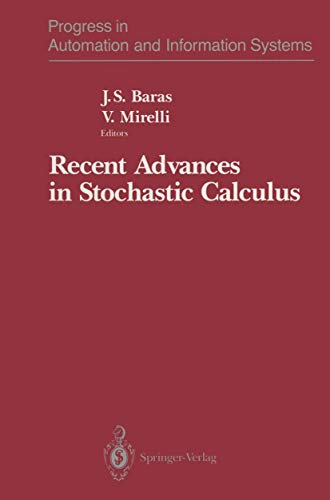 9781461279990: Recent Advances in Stochastic Calculus