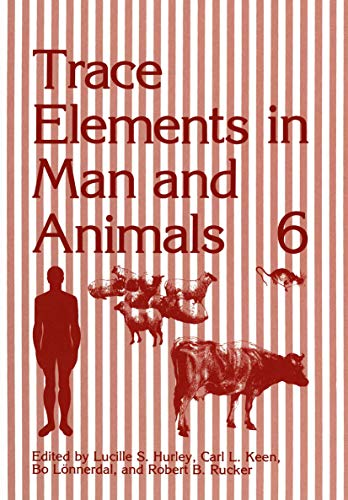 9781461280507: Trace Elements in Man and Animals 6