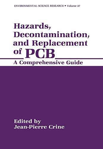 9781461280620: Hazards, Decontamination, and Replacement of PCB: A Comprehensive Guide (Applied Clinical Psychology)