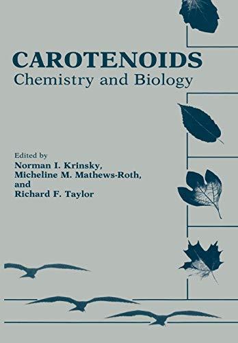 9781461281139: Carotenoids: Chemistry and Biology
