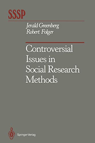 9781461283362: Controversial Issues in Social Research Methods (Springer Series in Social Psychology)