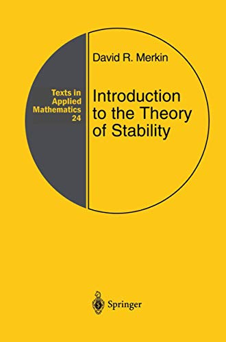 9781461284772: Introduction to the Theory of Stability