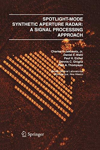 9781461285731: Spotlight-Mode Synthetic Aperture Radar: A Signal Processing Approach : A Signal Processing Approach