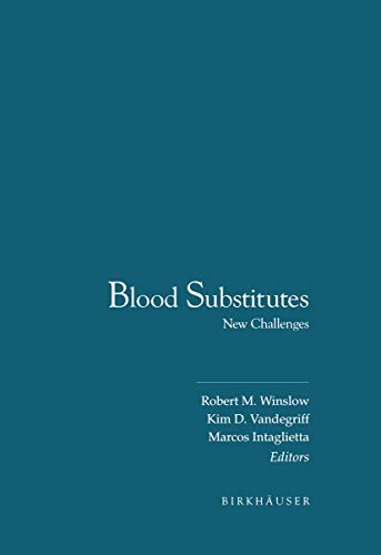 9781461286592: Blood Substitutes: New Challenges