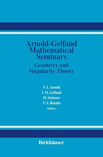 9781461286639: The Arnold-Gelfand Mathematical Seminars