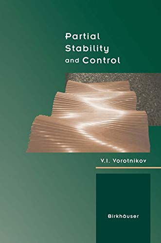 9781461286752: Partial Stability and Control
