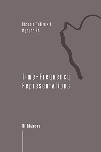 9781461286769: Time-Frequency Representations (Applied and Numerical Harmonic Analysis)