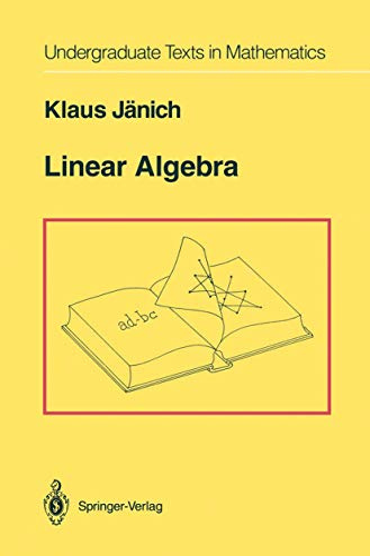 9781461287292: Linear Algebra (Undergraduate Texts in Mathematics)