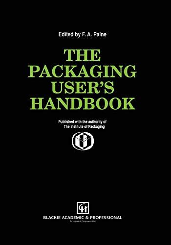 9781461287988: The Packaging User's Handbook