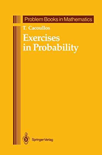 9781461288633: Exercises in Probability (Problem Books in Mathematics)