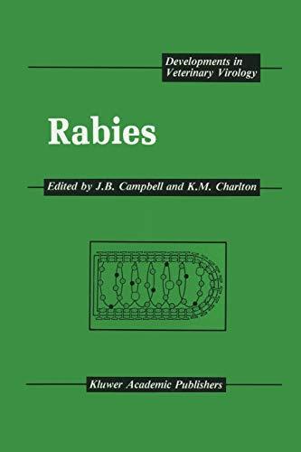 9781461289852: Rabies (Developments in Veterinary Virology)