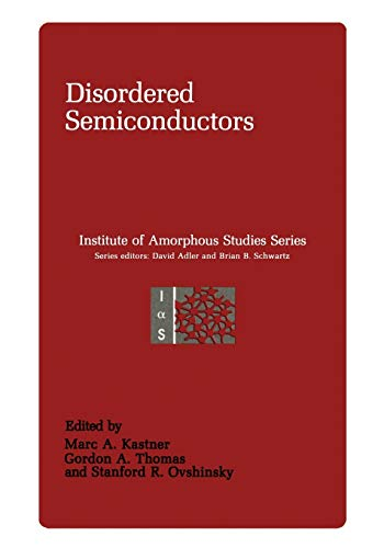 9781461290285: Disordered Semiconductors (Institute for Amorphous Studies Series)