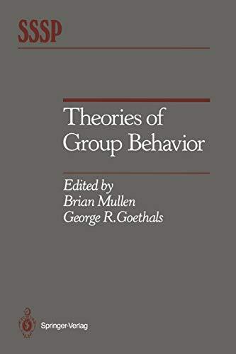 9781461290926: Theories of Group Behavior (Springer Series in Social Psychology)