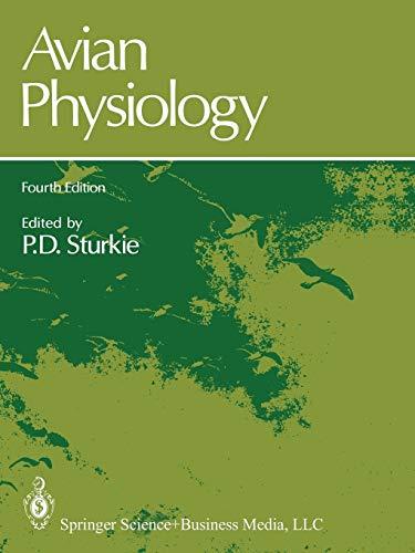 9781461293354: Avian Physiology
