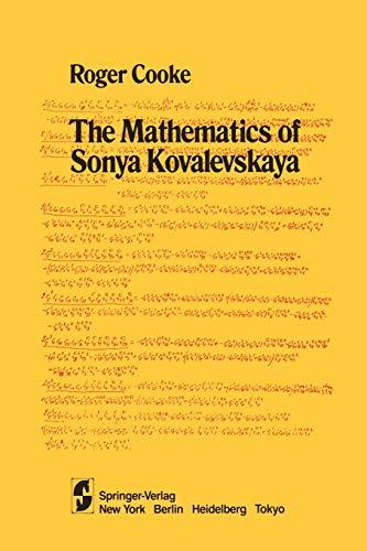 9781461297666: The Mathematics of Sonya Kovalevskaya