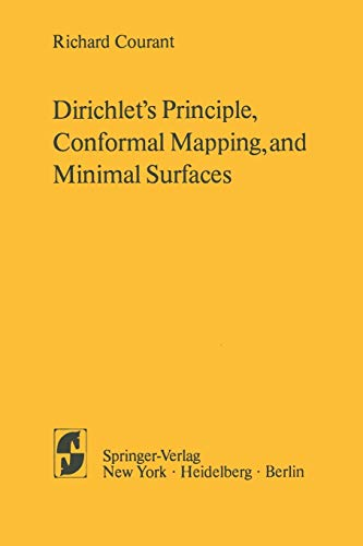 9781461299196: Dirichlet S Principle, Conformal Mapping, and Minimal Surfaces