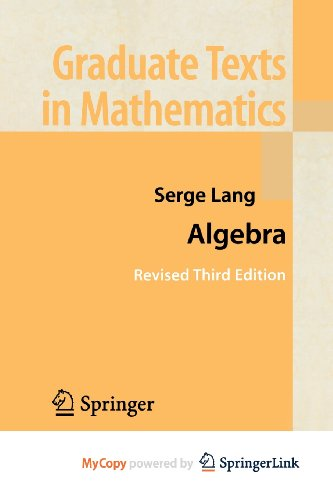 9781461300427: Algebra