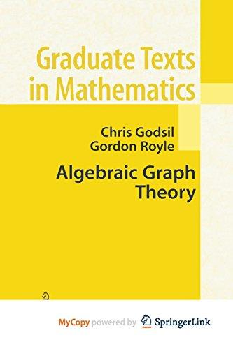 9781461301646: Algebraic Graph Theory