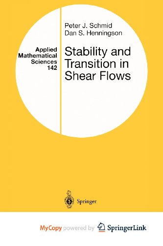 9781461301868: Stability and Transition in Shear Flows