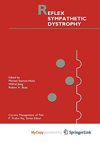9781461306863: Reflex Sympathetic Dystrophy